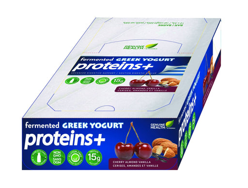 Genuine Health Fermented Greek Yogurt Proteins+ - Cherry Almond Vanilla