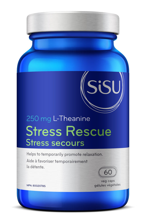 Sisu Stress Rescue L-Theanine (capsules)