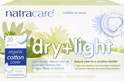 Natracare Dry & Light Pads