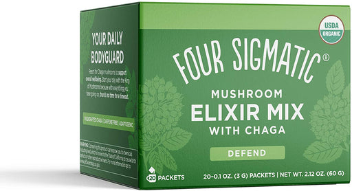 Four Sigmatic Chaga Mushroom Elixir Mix 20 x 3 g Packets