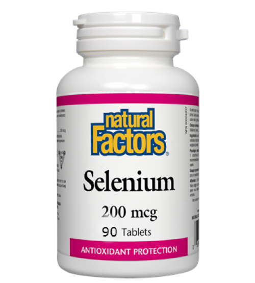Natural Factors Selenium 200 mcg 90 Tablets