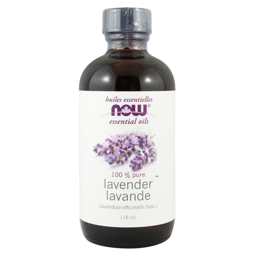 NOW Lavender Oil (Lavandula angustifolia) 118 mL