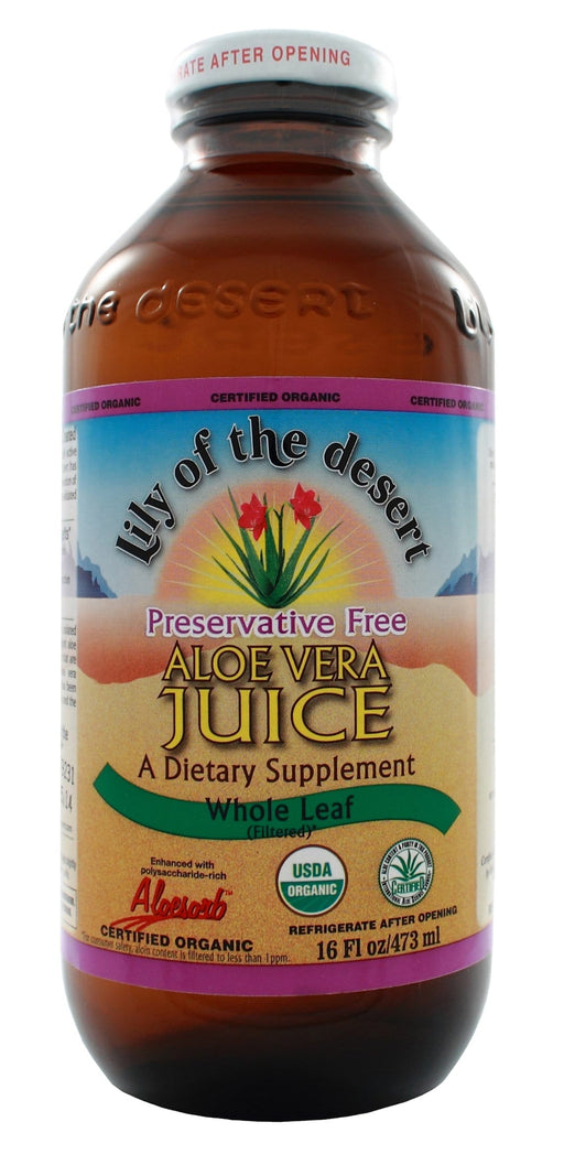Lily of the Desert Whole Leaf Aloe Vera Juice Preservative Free