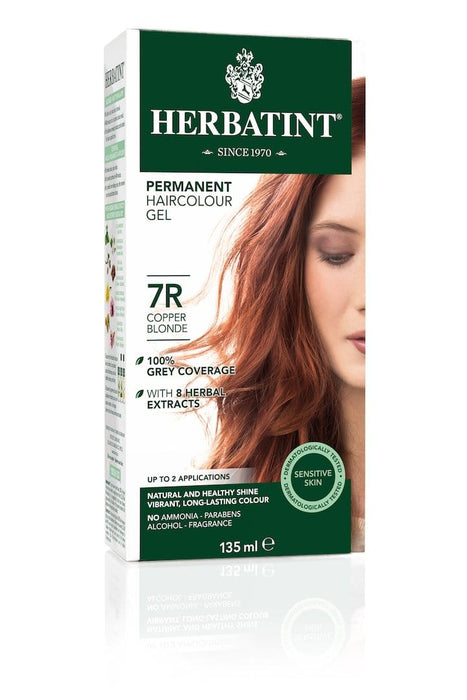 Herbatint Permanent Herbal Haircolor Gel - 7R Copper Blonde