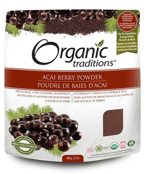 Organic Traditions Freeze Dried Acai Berry Powder