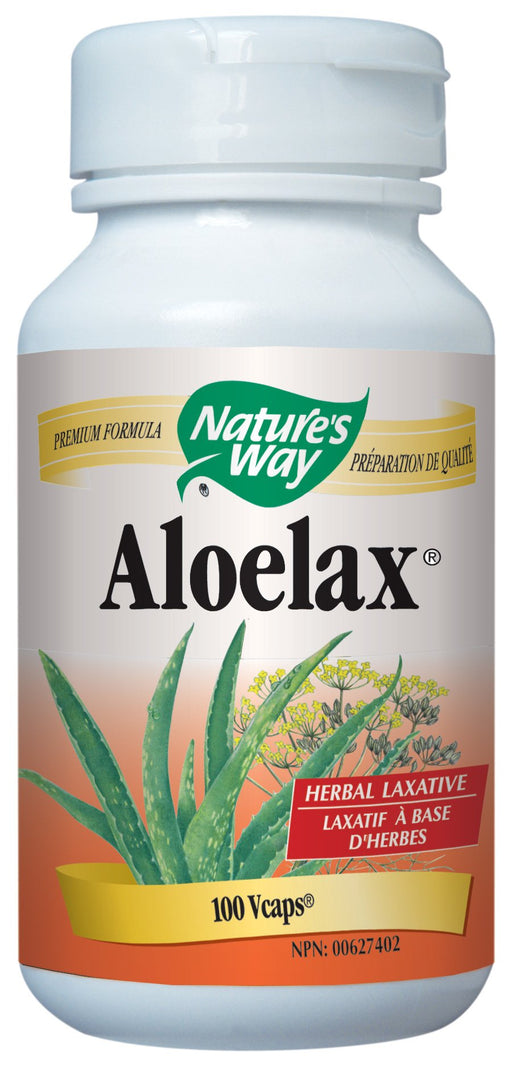 Nature's Way Aloelax with Fennel Seed 100 Capsules