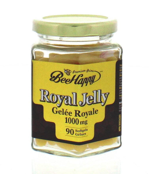 Bee Happy Royal Jelly 1000 mg 90 Softgels