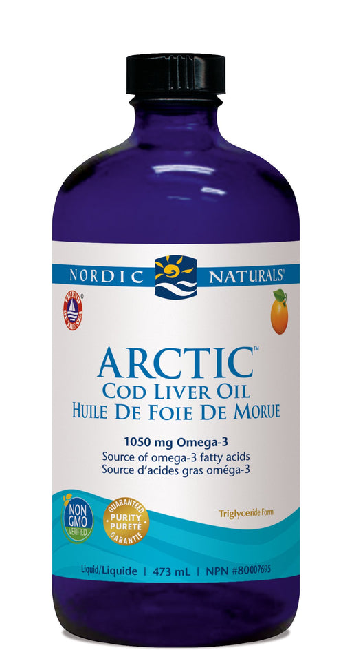 Nordic Naturals ARCTIC COD LIVER OIL - Orange Flavour