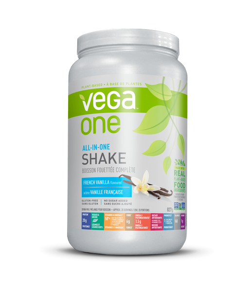 Vega All in One Nutritional Shake - French Vanilla Flavour