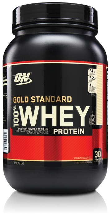 Optimum Nutrition Gold Standard 100% Whey - Vanilla Ice Cream
