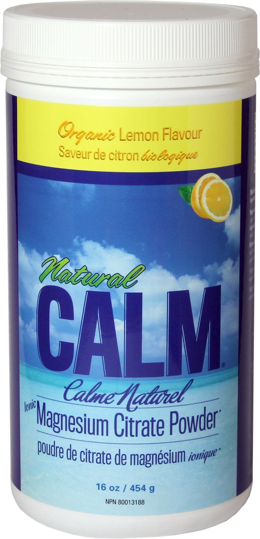 Natural Calm Magnesium Sweet Lemon 16 oz/ 454 g