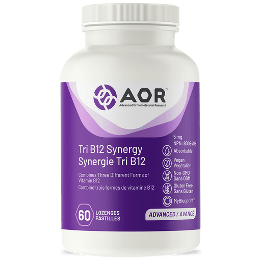 AOR Tri B12 Synergy 60 Lozenges