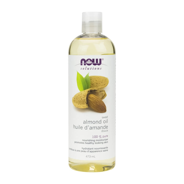 NOW Sweet Almond Oil 473 ml