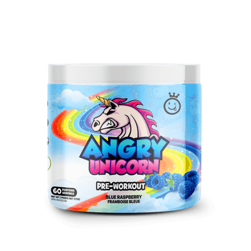 Yummy Sports Angry Unicorn Pre-workout Blue Raspberry