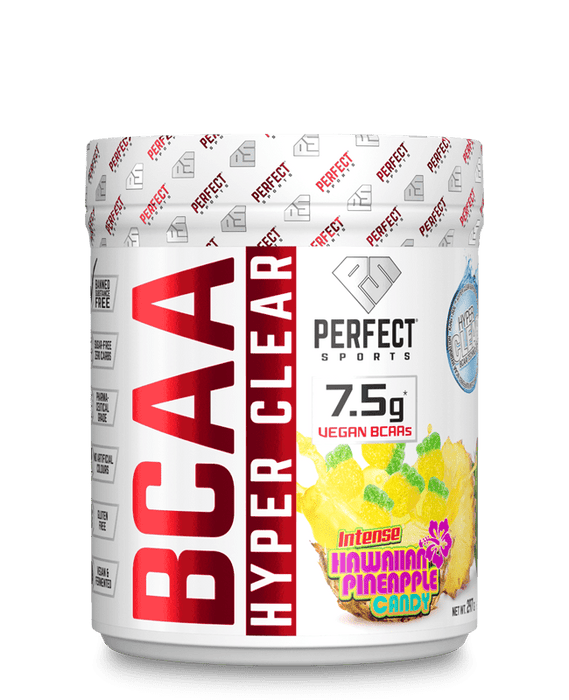 Perfect Sports BCAA Hyper Clear - Intense Hawaiian Pineapple 45 Servings 297 g