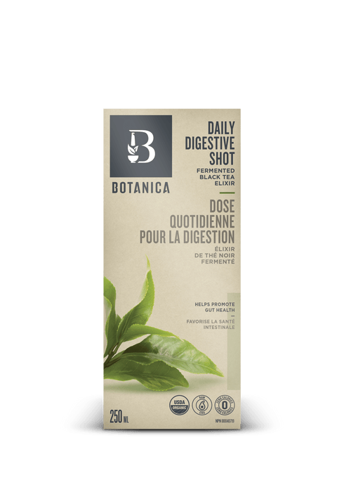 Botanica Daily Digestive Shot Fermented Black Tea Elixir 250 ml