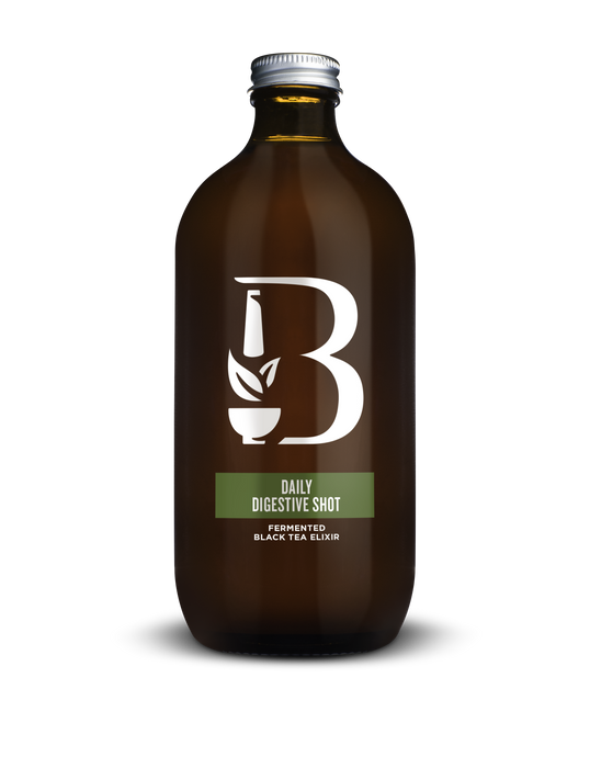 Botanica Daily Digestive Shot Fermented Black Tea Elixir 500 ml