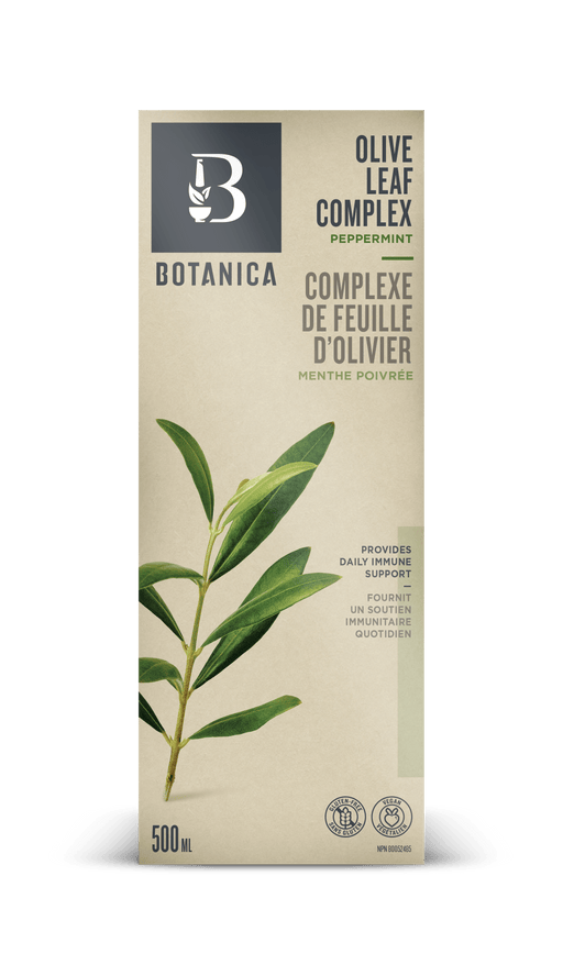 Botanica Olive Leaf Complex Peppermint 500 ml (Short Dated)