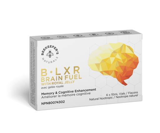 Beekeeper's Naturals B.LXR Brain Fuel With Royal Jelly