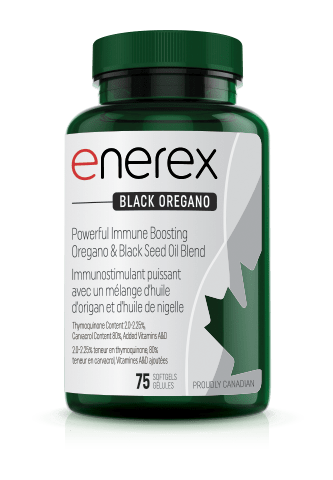 Enerex Black Oregano 75 soft gel caps