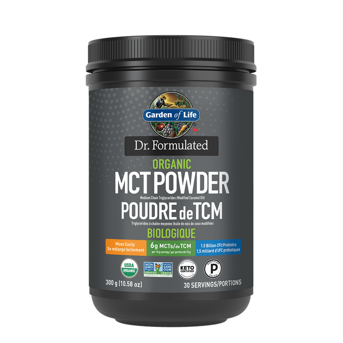 Garden of Life Dr. Formulated Organic MCT Powder 300 g