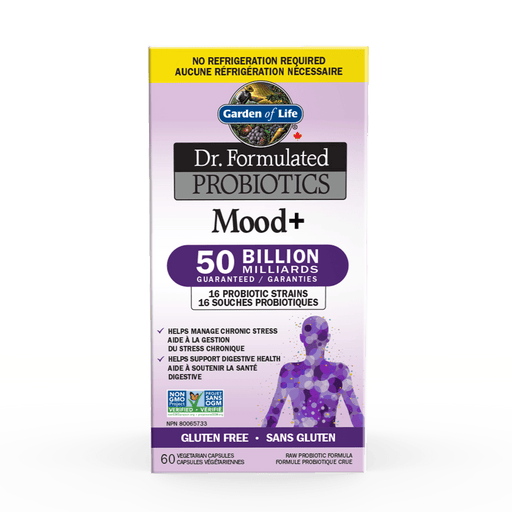 Garden of Life Dr. Formulated - Probiotics Mood+ Shelf Stable