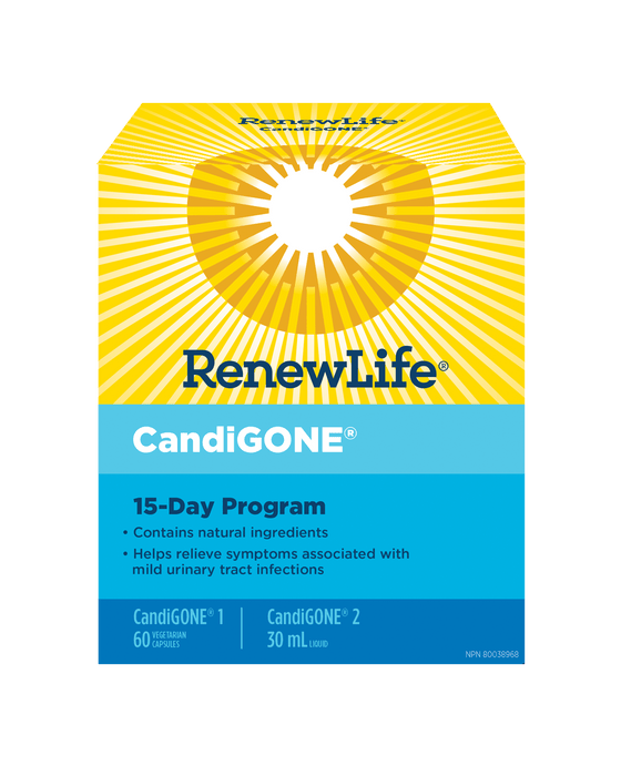 Renew Life CandiGONE 15 Day Cleansing Kit