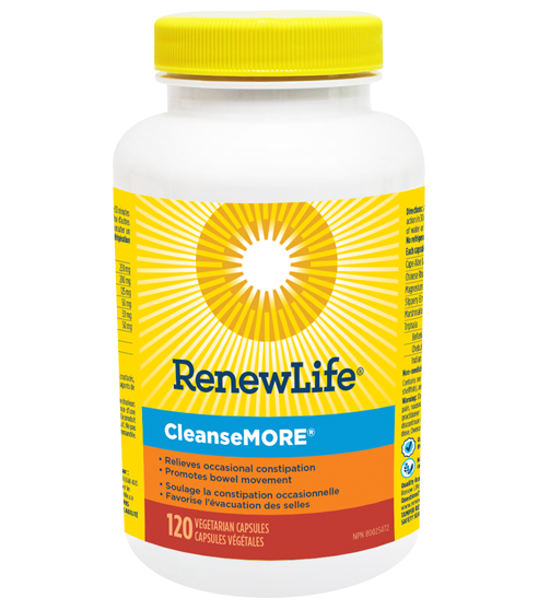 Renew Life CleanseMORE 120 V-Caps