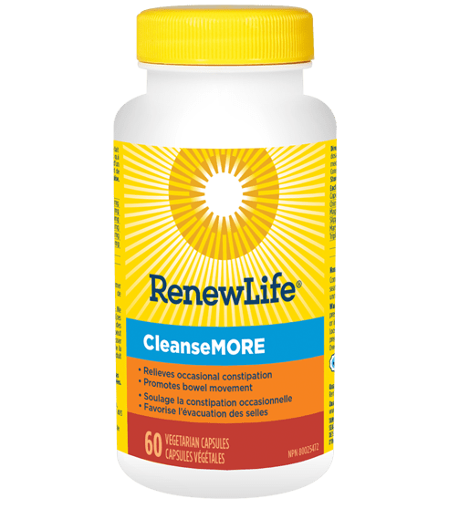 Renew Life CleanseMORE 60 V-Caps
