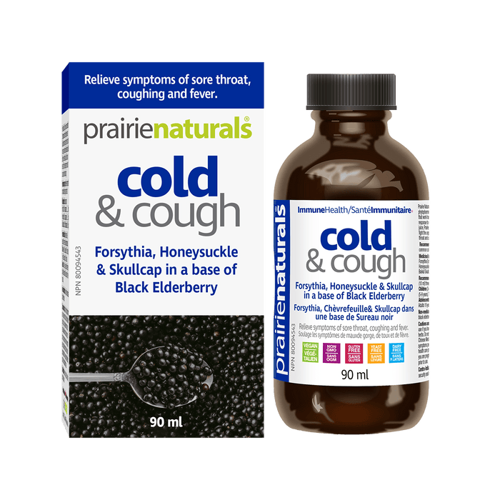 Prairie Naturals Cold & Cough Syrup 90mL
