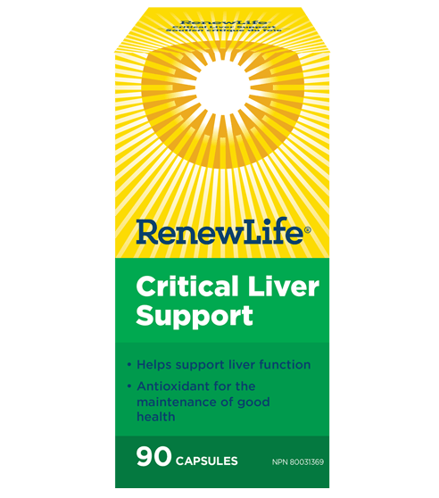 Renew Life Critical Liver Support 90 Capsules