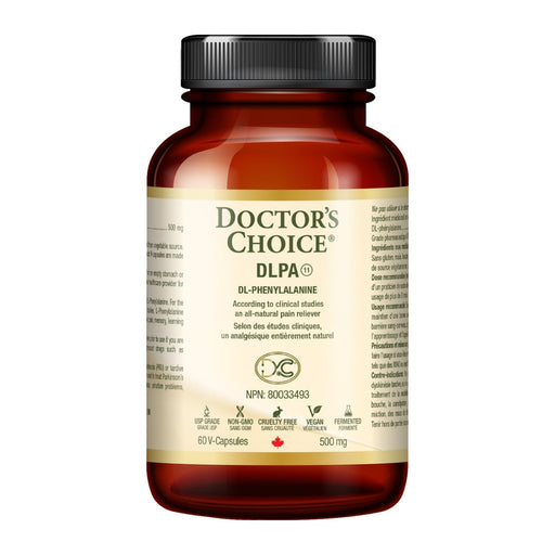 Doctor's Choice DL-Phenylalanine 500 mg 60 V-Capsules