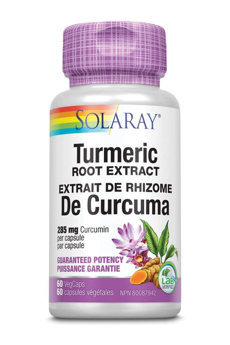 Solaray Turmeric Root Extract 300 mg 60 V-Caps