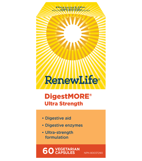 Renew Life DigestMORE ULTRA Strength 60 Veg-Cap
