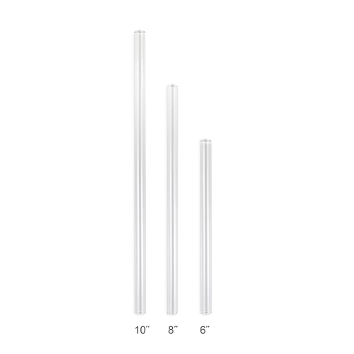 "Enviro Glass Straw 9.5 mm x 10"" Straight"