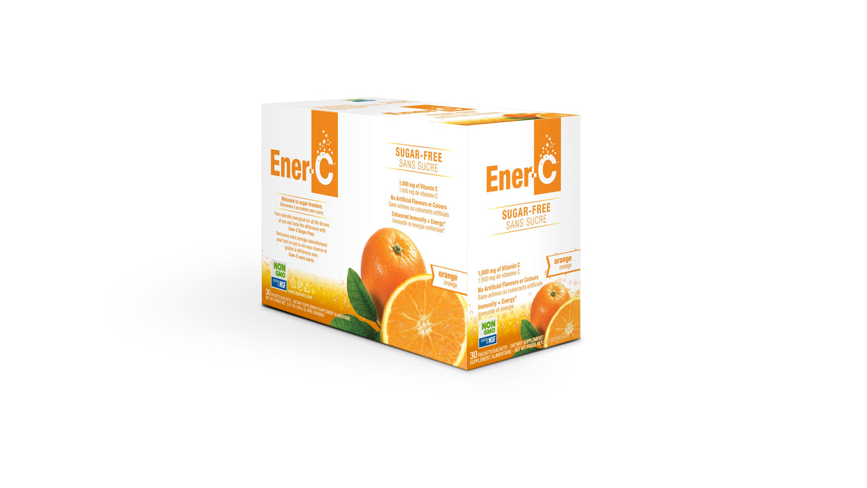 Ener-C Sugar Free Orange Pack of 30