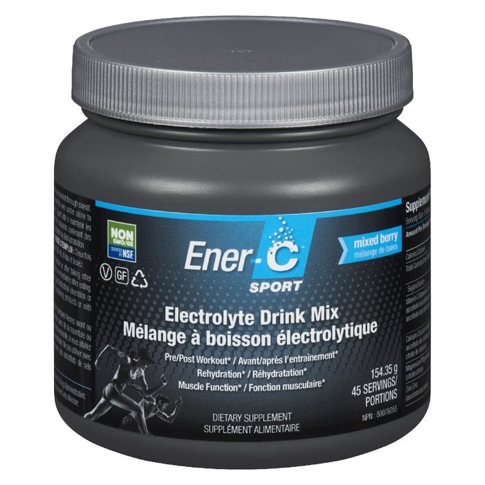 Ener-C Sport Electrolyte Drink Mix Berry Tub 154 g