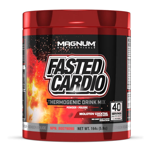 Magnum Nutraceuticals Fasted Cardio 158 g - Red Candy Blast Flavour