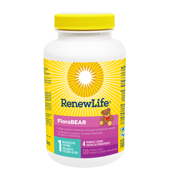 Renew Life Flora Bear 120 Tablets
