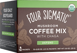 Four Sigmatic Mushroom Coffee Mix with Cordyceps & Chaga