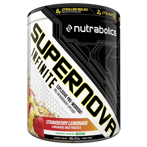 Nutrabolics Supernova Infinite Strawberry Lemonade 292 g