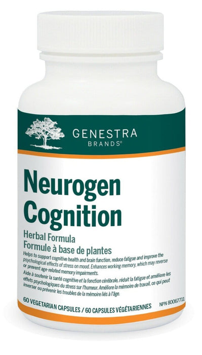 Genestra Neurogen Cognition Herbal Formula 60 Vegetarian Tablets
