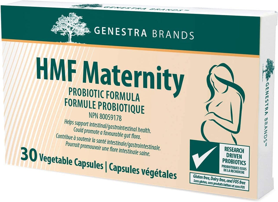 Genestra HMF Maternity Probiotic Formula 30 Vegetable Capsules
