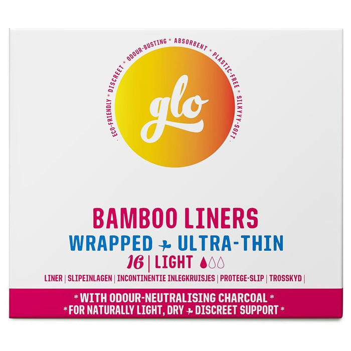 GLO Bamboo Liners Wrapped & Ultra-Thin