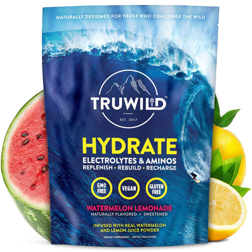 Truwild Hydrate Amino Acids & Electrolytes 20 Servings