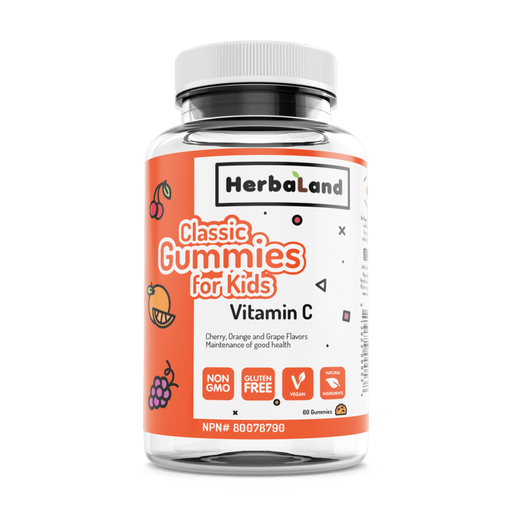 Herbaland Classic Gummies for Kids Vitamin C 60 Gummies