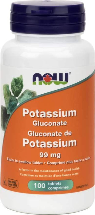 NOW Potassium Gluconate 99 mg
