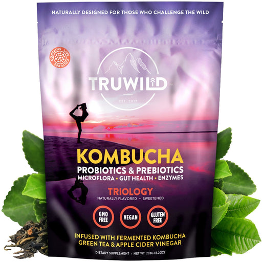 Truwild Kombucha Powder 20 Servings