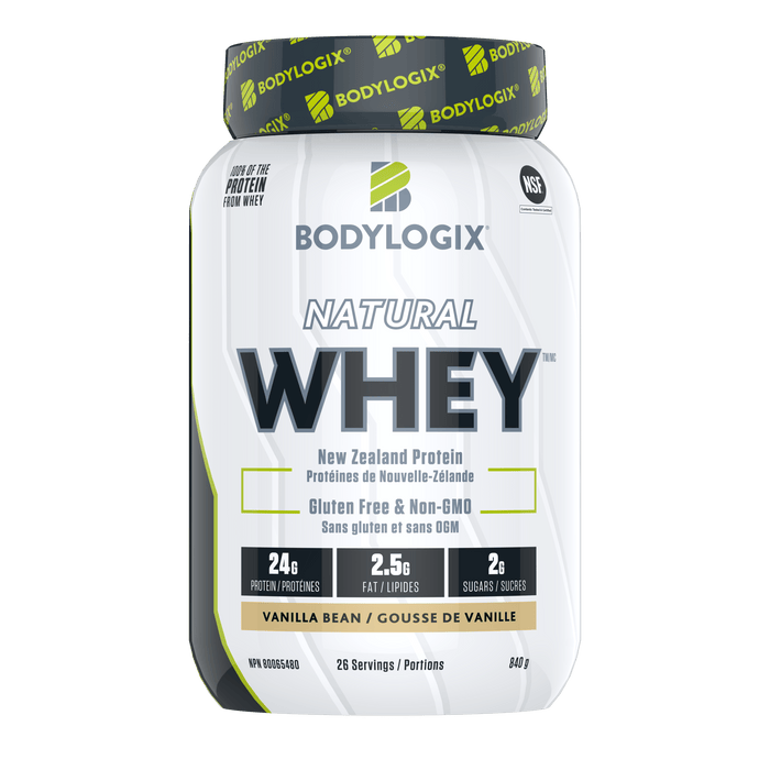 Bodylogix Natural Whey Vanilla Bean 840 g