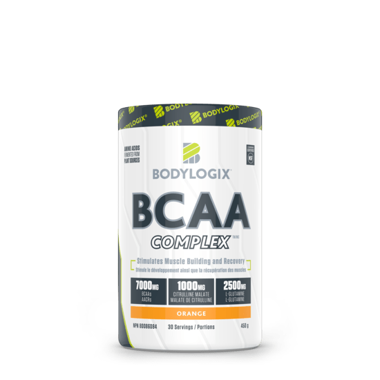 Bodylogix Natural BCAA Orange Flavour 450g